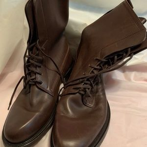 Hugo Boss boots Leather Boots Size - 42